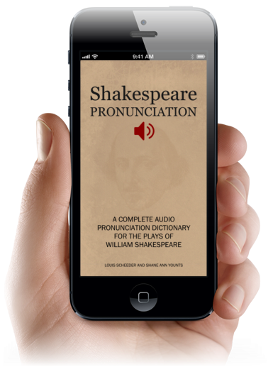 Audio Shakespeare Pronunciation App